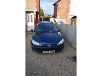 Reliable, economical, and durable Peugeot 206SW diesel estate for sale