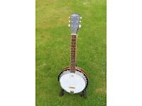 Ashbury 6 String Banjo