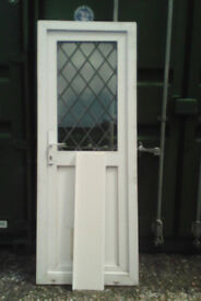 Small white upvc door for sale, these are hard to come by