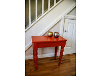 Hand Painted Side Table (Offers)