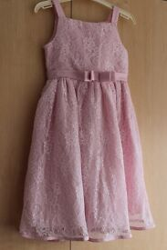 Pink girl's dress 6 year old