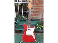 1962 Fender Musicmaster, original case. No replaced parts.