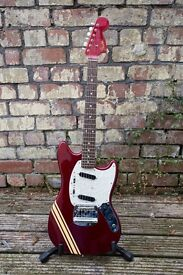 """Fender Mustang 72"""" Competition Re-issue Guitar Japan"""