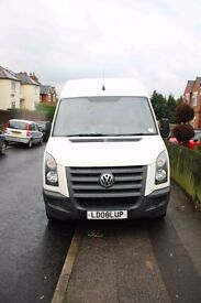 Reliable Volkswagen Crafter 2.5 TDI CR35 High Roof Van 4dr (MWB)