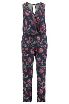 MS Mode Dames Jumpsuit in all-over print Rood