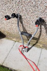 Car two bike rack