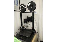 Creality 3D Printer, hardly used
