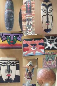 Handmade Tribal masques