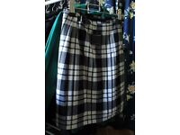 KINLOCH ANDERSON Men's Kilt and Shirt (never worn)