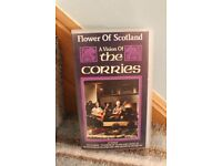 The Corries and Tommy Scott VHS videos