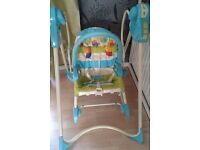 fisher price swing 'n rocker - 3in1