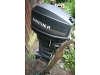 Mariner 20hp 2 stroke outboard good condition long shaft needs sorting