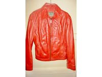 Women's leather jacket 14