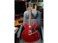 HERITAGE H-535 USA (LIKE GIBSON 335, MADE IN GIBSON FACTORY). STUNNING!