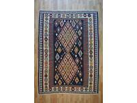 Brand new Hand made Persian Kelim Rug Qashkaie 230cmX178cm only £350