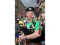 Bagpipe Tuition by Qualified and Proven Teacher