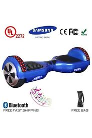2017 6.5 Swegway Hoverboard Self Balance Hover Board With Bluetooth + Bag+ Light