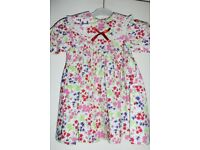 Girls / Toddlers Dress by Pattacake, age approx 18 - 24 Months, Very Good Condition, Histon