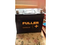 fuller superb hd battery 1 month old with receipt and five year warrantry