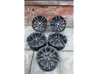 """5 X Vauxhall Corsa 17"""" Alloy wheels"""