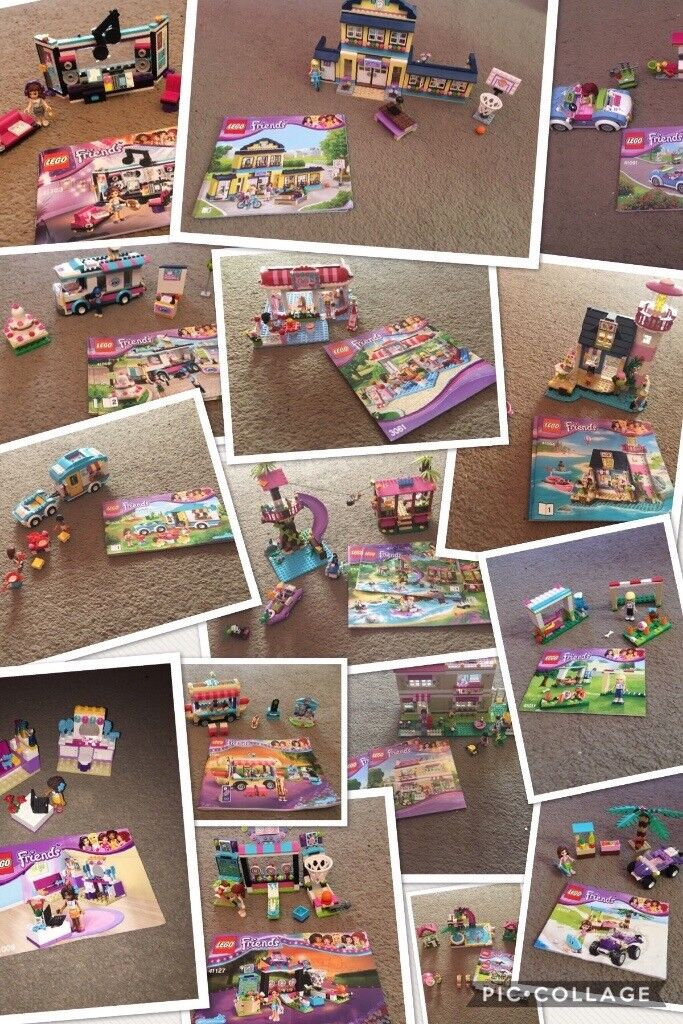 Lego Friends Sets Complete With Instruction Manuals In Leicester