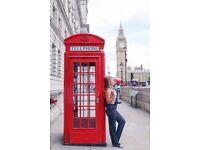 Friend travel buddy Explore London visit tourist attractions Tour Landmarks Enjoy Holiday Photos FUN
