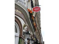 Brilliant New Assistant Manager needed at The Craft Beer Co. Clerkenwell