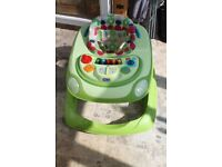 Chicco Little Piano Walker - 2 Height settings - 3 Sound Settings - 2 Volume Settings - Good Con