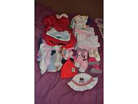 Bundle 6-9 months girls clothes