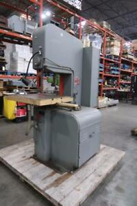 DoAll Band Saw w/ Blade Welder