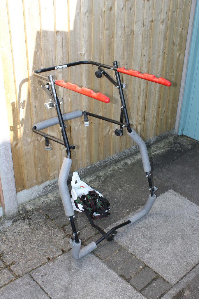 Bike Carrier for Hatchback Cars (max 3 bikes)