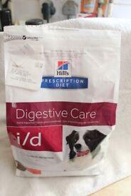 2kg Hills prescription digestive care I/D dry dog food