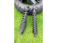 Peugeot Speedfight 2 2007 front and rear shock absorbers