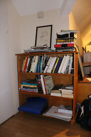 SOLID PINE BOOKCASE (PERFECT CONDITION)