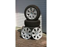 Winter tyres, wheels and trims for BMW 3 Series