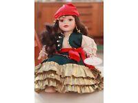 4 Collectors Porcelain Dolls