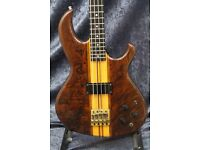 Aria Pro II SB-1000 Bass Guitar - Walnut Finish