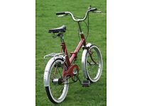Sovereign Folding Bike - Excellent Shopper Bicycle 3 Speed