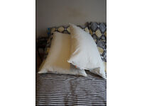 2 Pillows Ikea Kröson, barely used
