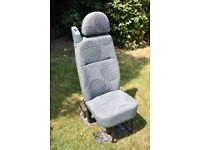 Renault Traffic Van rear crew seats - double and single