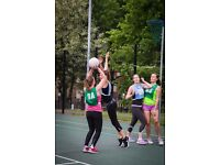Players Wanted for Netball Teams in North London