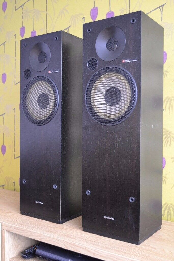 Technics SB-T10 Linear Phase Floor Standing Speakers - VERY RARE!!!