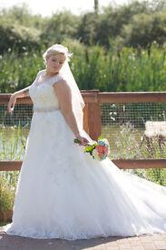 Maggie Sottero Bellissima Wedding Dress size 16