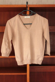 Marks & Spencer size 14 V-neck jumper, long sleeves