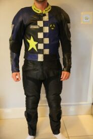 Motorbike Leather jacket size S