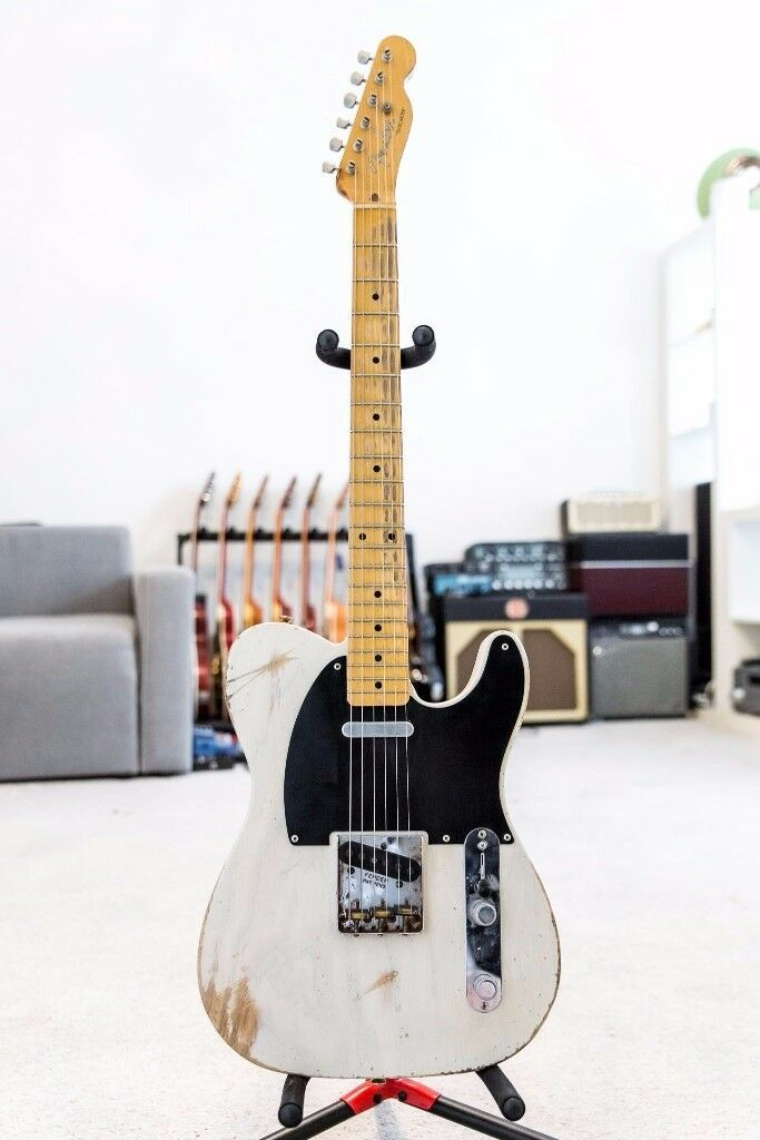Fender Telecaster AllParts with Seymour Duncan Antiquity 6lb