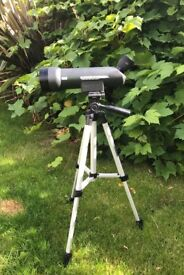 Optricon Mighty Midget spotting scope. Comes with tripod.