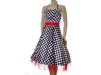 New Satin Dresses Job Lot UK 10 12 14 16 Red Blue Mint Black £5 each