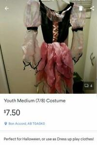 Princess Costume Dress Size 7/8 Kids