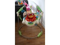 Fisher Price Rainforest Jumperoo Baby Jumper Bouncer Seat